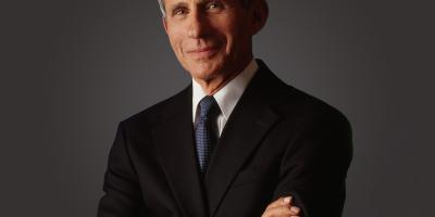 A photo of Dr. Anthony Fauci.