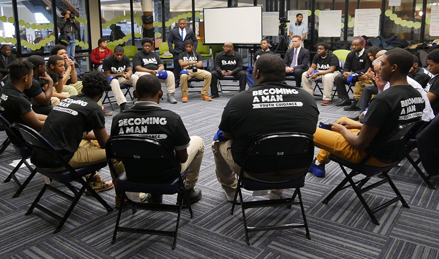 Becoming a Man group session