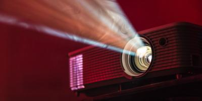 An image projector. Photo by Alex Litvin on Unsplash